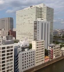 東京・日本橋箱崎町の日本IBM本社