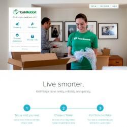 TaskRabbitのウェブサイト