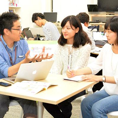 地方大学の就活生が集まる「就トモcafe」 上京時のムダ解消を支援