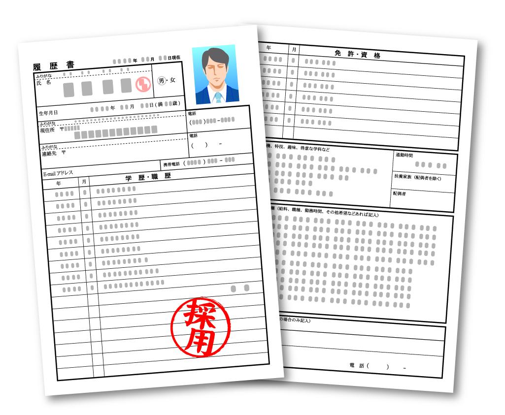 「大学指定の履歴書使え」と就職課 就活生は「5枚100円」を生協で買っている
