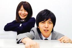ファインズの竹久さん(左)と水本事業部長