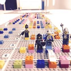 レゴを使って進捗状況を表現