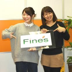 「なでしこ広報会」次週に登場するファインズ広報の竹久さん(左)にバトンタッチ!