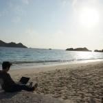 沖縄で夢のビーチプログラミング