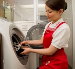 洗濯の様子
