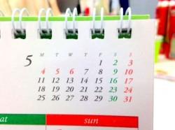 ゴールデンウィークはカレンダー通り?