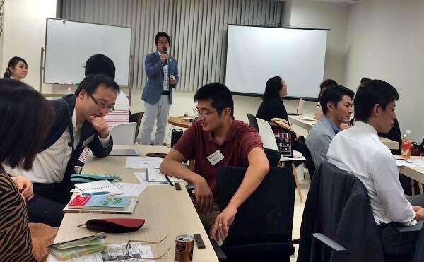残業と片づけについて語り合う参加者たち