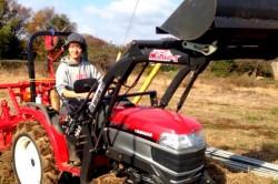 野々松も農業体験に参加