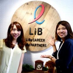 次回登場のLiB武井さん(左)とともに