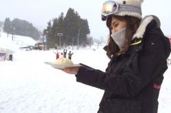 社員旅行で長野にスキーへ
