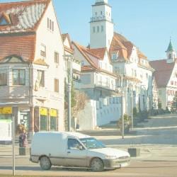 ドイツの古い街並み