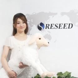 レシード広報の今石祐子さん