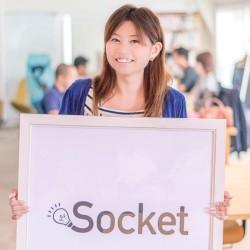 socket広報の地田美紀さん
