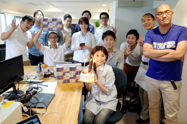 社員のお誕生日会も開催