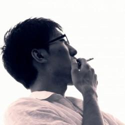 喫煙所があるって話だたのに…