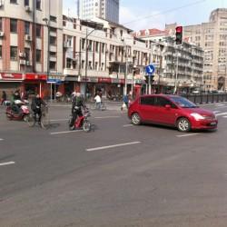 都会的な上海の街並み
