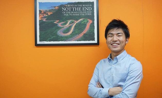 インドネシアで働くリッチメディアの笹川大和さん(25)