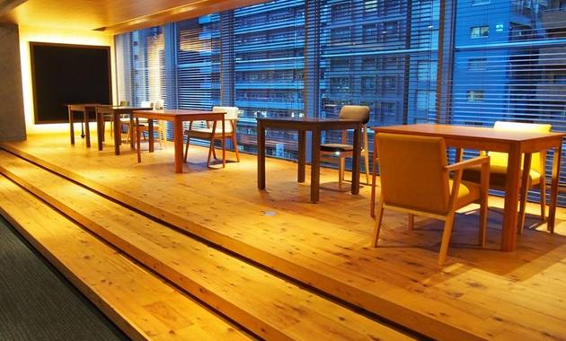 プロジェクター完備のイベントスペース「Innovation Lounge」