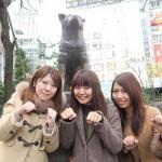 平成広報女子会から今回の担当者3人。左から岸田洋子(VCNC Japan)、國府田奈女(ウィルゲート)、荒川佳織(レアジョブ)