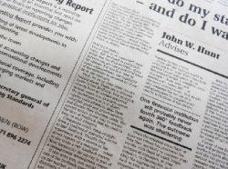 若い世代の新聞への信頼度が下がっている