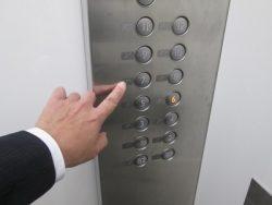 エレベーター使用可能階級