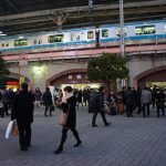新橋駅前はいたって平和だった