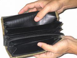 お金は出ていくばかり……