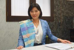 民進党の公認で新宿区からの出馬を表明した青地真美氏