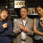 登壇した3人(左から茂木さん、古賀さん、原さん)