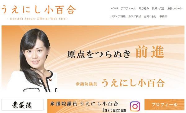 上西議員のブログ