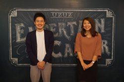 取材に答えた川畑さん(左)と、同社広報担当の御代田さん(右)