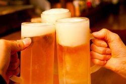 早く帰って美味しいビールを飲もう!