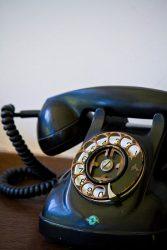 懐かしの黒電話