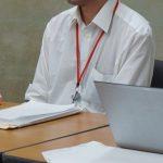 9月29日、男性と代理人弁護士が記者会見を開いた。