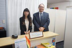 田岡さん(左)と猿橋さん(右)