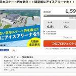 14日18時時点での達成率は0.8%。目標額は「2億円」(担当者)だそうです。