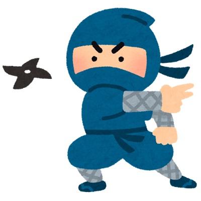 手裏剣の起源と変遷について研究したい。