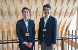 アキュラホームの池沢篤人氏と堀越隆幸氏