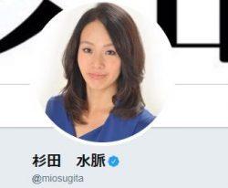 画像は杉田議員のツイッターのキャプチャ