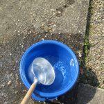 暑さ対策が「打ち水」?