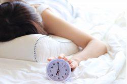 睡眠不足の人も多数