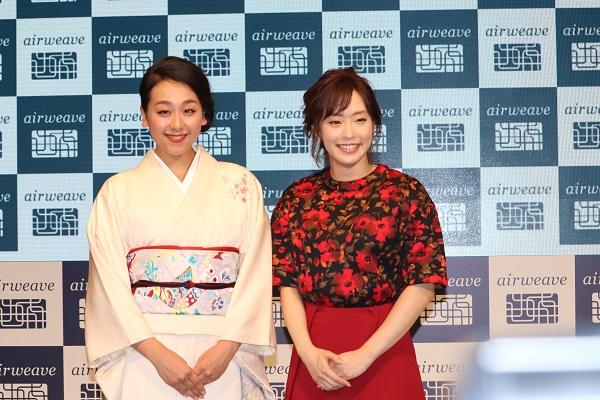 浅田真央さんと石川佳純さん