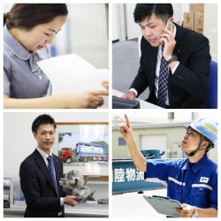 さまざまな職種で活躍する社員たち