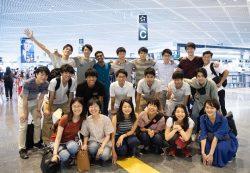 2018年のグローバルインターンシップに参加した学生たち