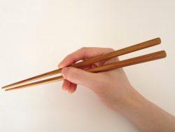「箸の持ち方」について
