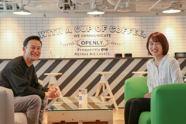 ボッシュのサマーインターンシップに参加した田中舜一郎さん(写真左)と角田絵未さん(写真右)