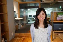 ▲経営企画室の谷口世理奈。社内業務改革プロジェクトを立ち上げた