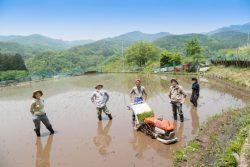 農作業を助け合うマッチングサービス