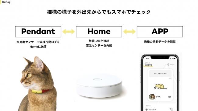 猫の生活をテクノロジーで見守るIoTプロダクト「Catlog」