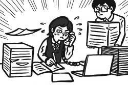 女性の電話対応や紙ベースの業務といった時代遅れのルールに悩む人は多いようだ